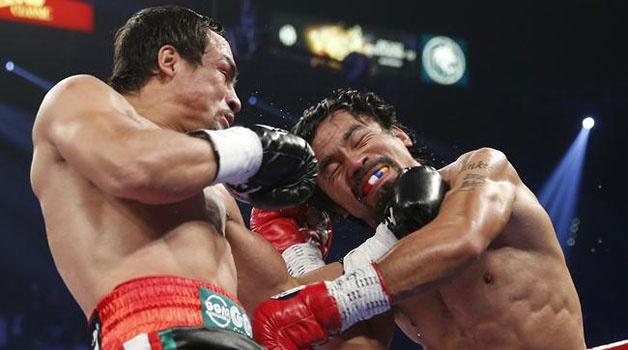 Imagen de la pelea entre Pacquiao y Márquez del pasado 8 de diciembre en Las Vegas / Archivo