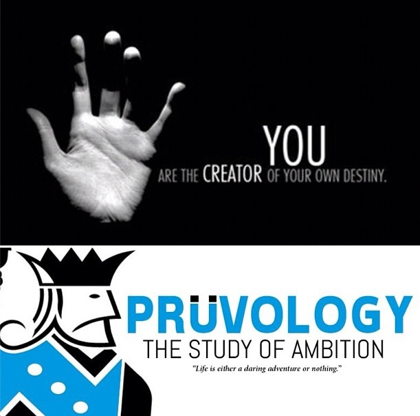You are the creator of your own destiny. - #pruvology #pruv #pruven #destiny #ignation #ambition #quote #inspire #inspiration #motivate #motivation #blog #happiness #success #successful