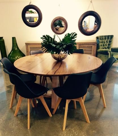 Why a round dining table might suit your space