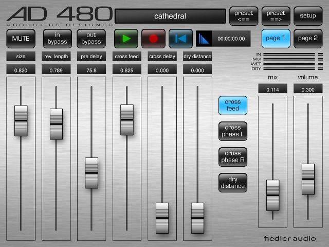 Gearjunkies.com: Fiedler Audio releases AD 480 Reverb for iPad