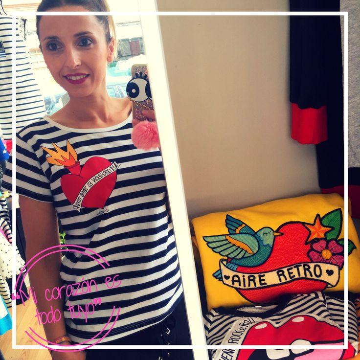 Y a ti, ¿quién te hace Pump Pump? ❤️❤️ ¡Recién llegada, camiseta entalladita estilo #navy de @aireretro ! ¡Hazte con ella!  #DPatryClothes #leonesp #clothes #style #cute #happy #instamoment #tueresunica #igersleonesp #fashion #workingon #hechoconamor #somosdeleon #comeon #instadream #doit #moda #outfit #aireretro