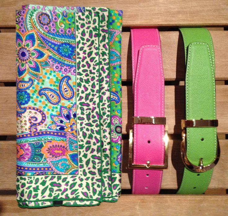La Miringa os trae cinturones de piel .  Mira qué colores!! Con hebillas intercambiables y para todas las tallas!