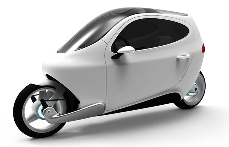 Lit Motors C1 concept  Enclosed, all-electric 2-wheeler with self-balancing gyroscopic tech. Coming 2014.