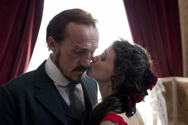 Jerome Flynn as Sgt. Drake and Charlene McKenna as Rose in Ripper Street...I…