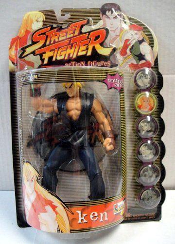Street Fighter Alpha 3 Round One Ken in Dark Blue Gi with Black Belt Action Figure @ niftywarehouse.com #NiftyWarehouse #StreetFighter #VideoGames #Gaming