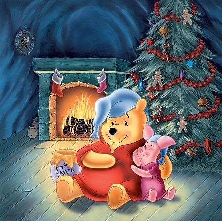 *POOH & PIGLET ~ Good night, sleep tight