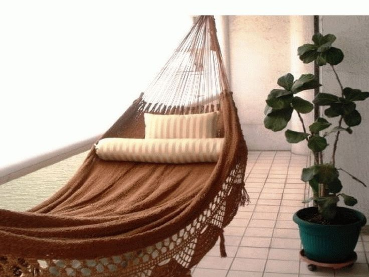Home AccessoriesHow To Make Diy Le Beanock Indoor Hammock With Brown Colour How