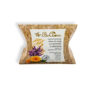 100% Natuurlijke zeep voor baby's en de gevoelige huid. 90gr