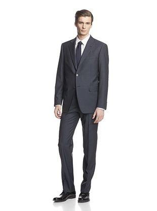 -26,900% OFF Cerruti 1881 Men's Drop 7 Classic Fit Suit (Blue Square)