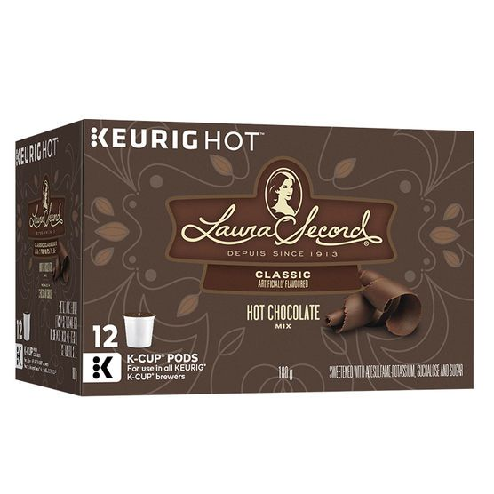 Keurig Laura Secord Hot Chocolate Capsules