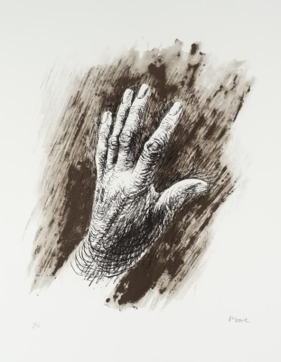 Henry Moore OM, CH 'The Artist's Hand III', 1979 © The Henry Moore Foundation. All Rights Reserved