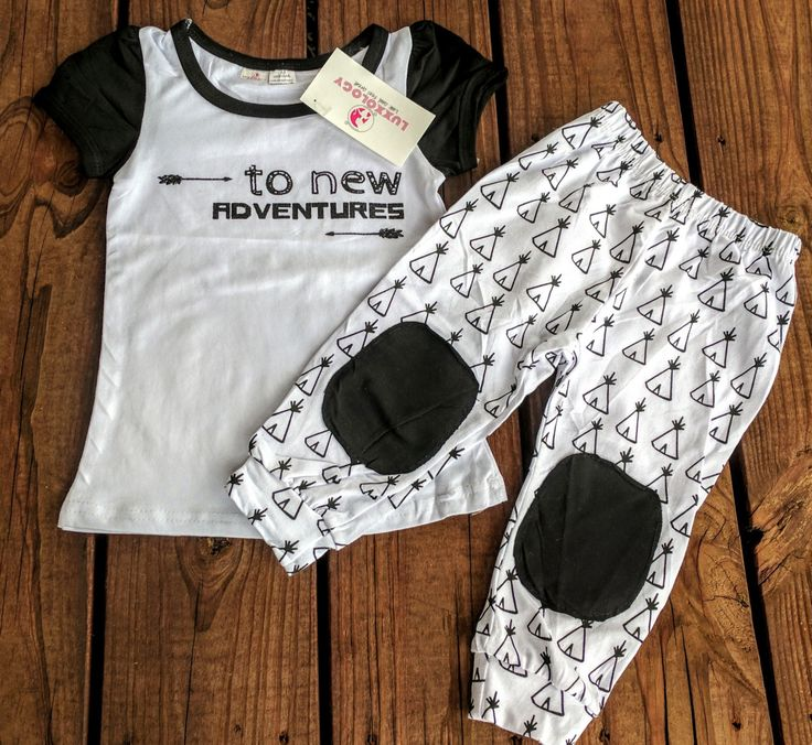 Adorable Kids Summer Capri Outfit set!