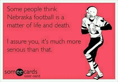 Nebraska football ... bout that time