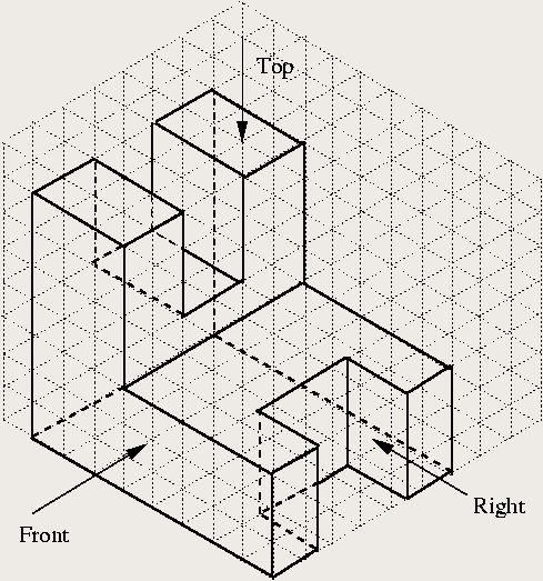 how to create isometric drawings