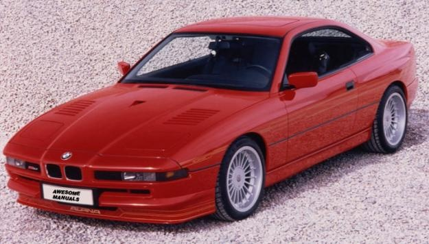 BMW 840i ¶ Still one of the nicest looking cars in the world
