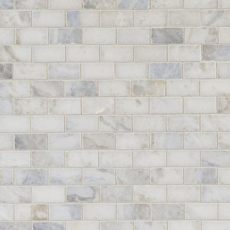 Sahara Carrara Brick Marble Mosaic One Day Marble