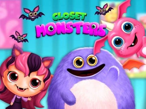 Closet Monsters - Monster Girl Makeover iOS & Android Gameplay video for...