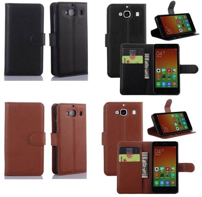 Wallet Stand Leather Case Xiaomi Redmi 2 - kitkes.com