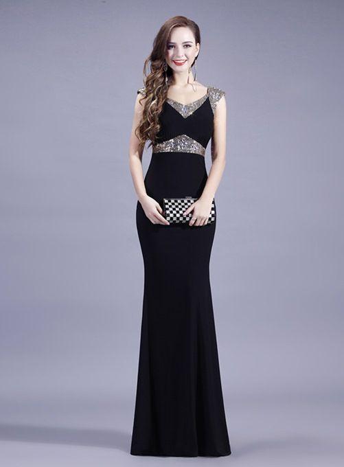 b3d33f7d808 Attractive A-Line V-Neck Lace Sequins Mother Dress -m.ericdress.com ...