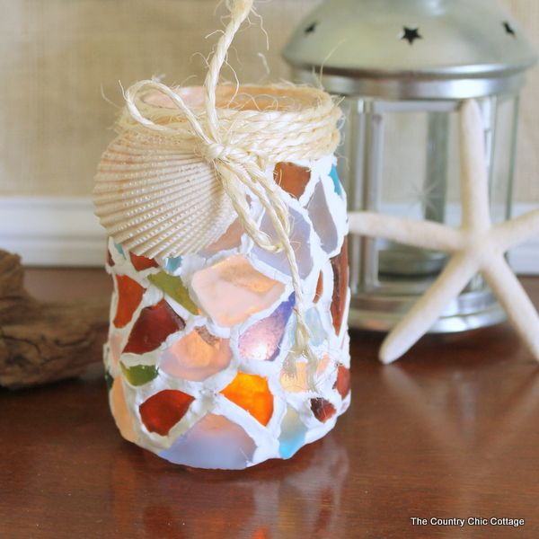 Diy Mason Jar Design Decorating Ideas: 1000+ Images About Sea Glass Crafts Ideas On Pinterest