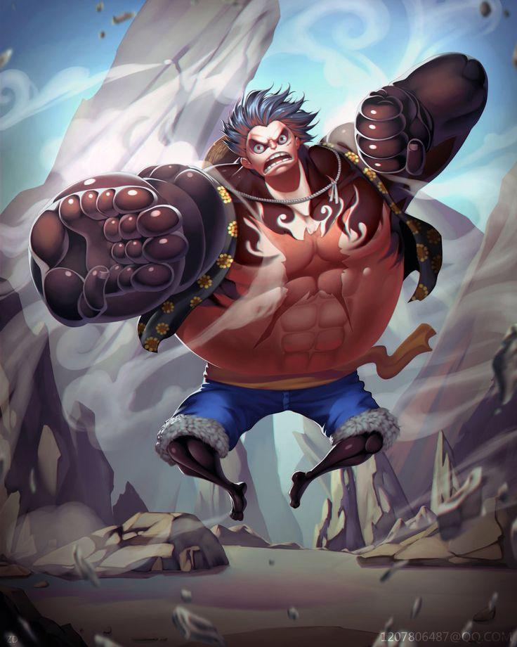 Luffy - Gear Fourth!