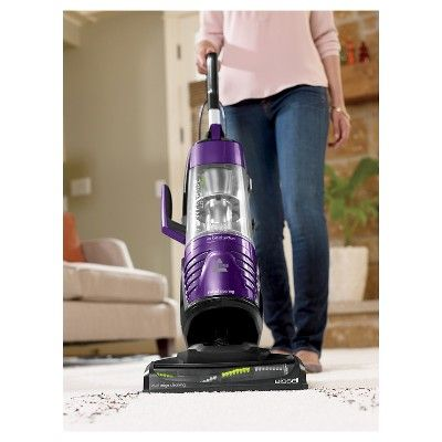 Bissell Powerglide Deluxe Pet Vacuum with Lift-Off Technology - GrapeVine Purple 27636
