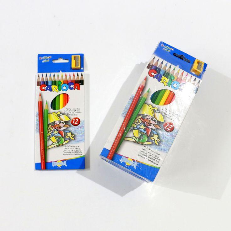 Carioca - 12 creioane colorate