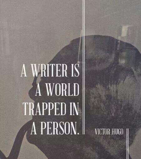 Quote by Victor Hugo on Writing