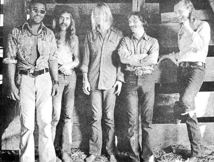 Allman Brothers Band, 1972: Twiggs Lyndon.
