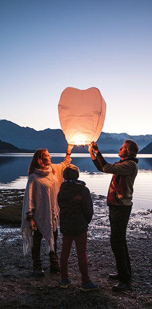 Celebrating Midwinter Matariki beside lake Wanaka