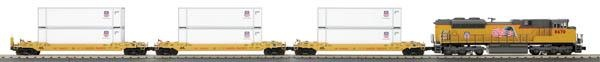 MTH 30-4214-1 SD70ACe Diesel R-T-R Deluxe Freight Train Set w/Proto-Sound 2.0