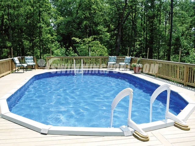 Above ground pool decks above ground pool swimming pool for Above ground pool vinyl decks