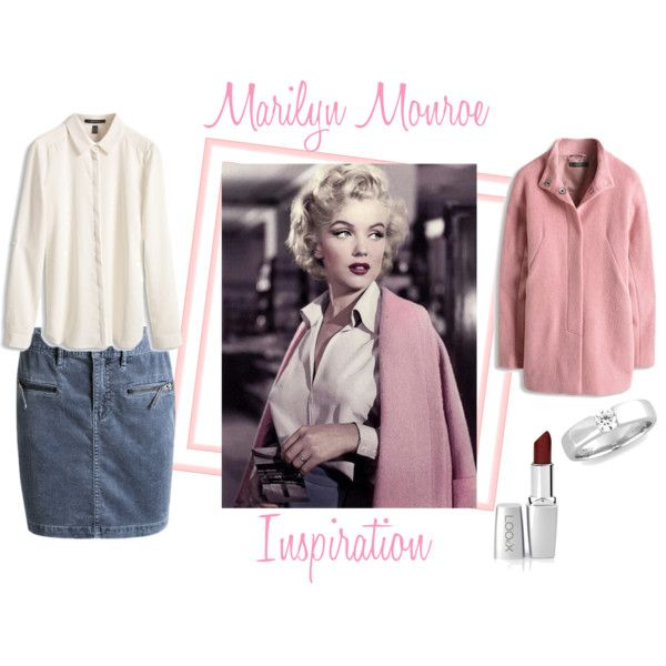 """Marilyn Monroe Inspiration"" by yvonwouters on Polyvore"