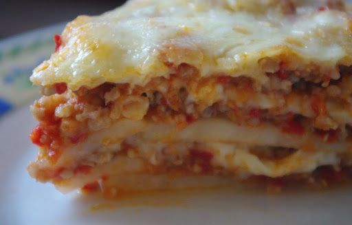 Csipetfalat: Paleo lasagne