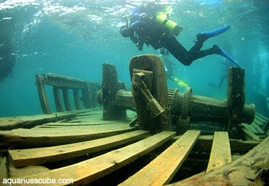 Diving in Tobermory, Ontario