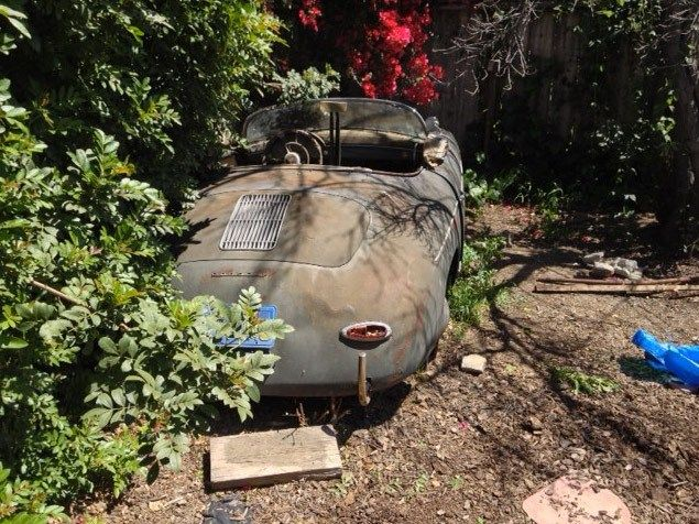 real barn find cars for sale | Yard Find - 1957 Porsche 356 Speedster For Sale