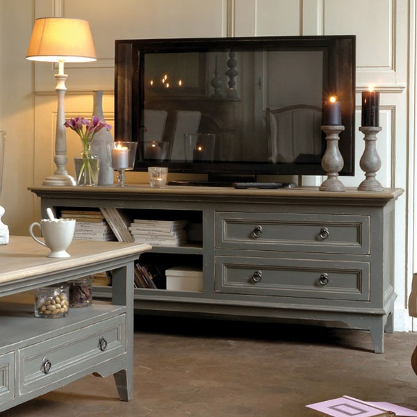 Meuble bas TV-Hifi - Collection Esquisse - Copyright Interior's France