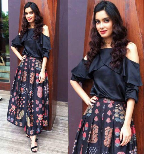 Diana Penty in aza designer  Label Ritu Kumar
