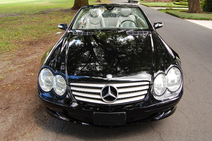 2005 Mercedes Benz SL500...more miles that I want though ...