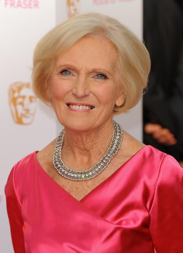 The Best Hairstyles for Women Over 50: Mary Berry