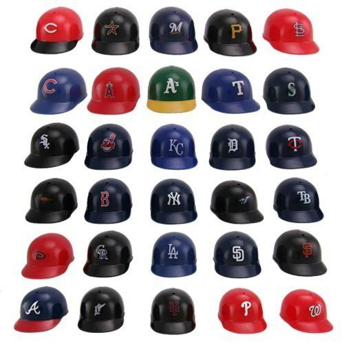 Major League Baseball Helmet Standings Board Clear by Unknown. $19.50. Top Quality, Manufactured by Rawlings. Officially licensed by the MLB. With Official Colors and Team Logos, the Major League Baseball Helmet Standings Board represents every team in MLB so you can use them to chart each team's standings on the included display board, throughout the season. The Major League Baseball Helmet Standings Board is an excellent conversation piece in your home or off...