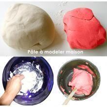 Recette de la pâte à modeler - Tête à modeler