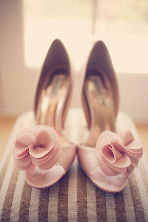 1950s pink chic wedding