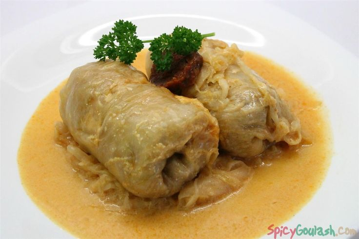 Stuffed cabbage or cabbage rolls is one of the most iconic Hungarian foods. Full of flavors, you wont ever forget once you taste it!