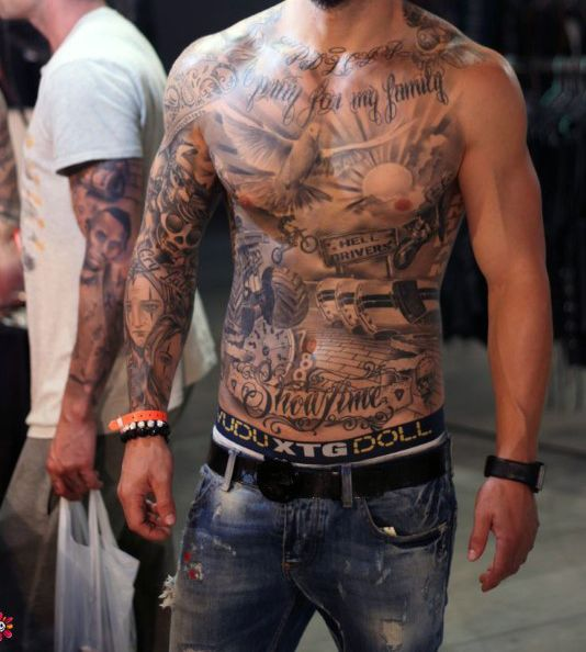 Tattoo Designs Gallery Chest Tattoos For Men: 17+ Ideas About Mens Tattoos Chest On Pinterest