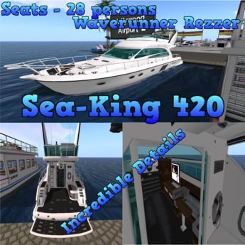 Sea King 420 Yacht v4.0