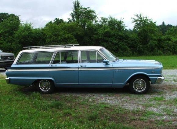 1963 Ford Fairlane Station Wagon V8 For Sale