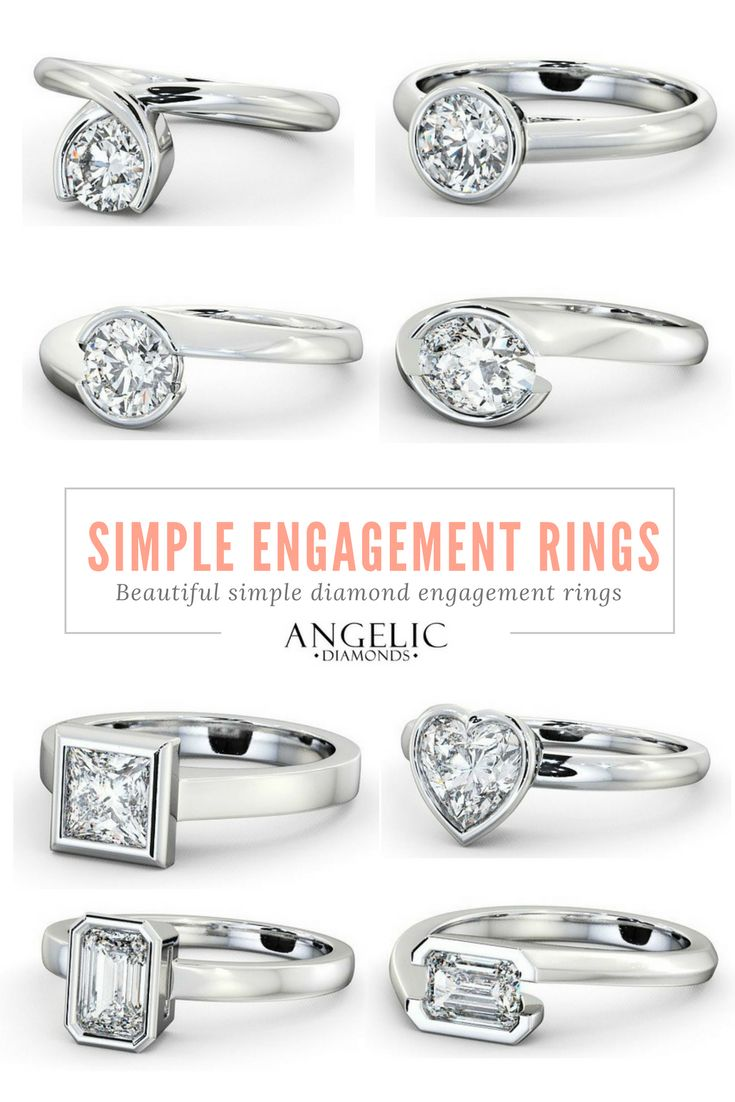 Simple engagement rings with a free design service for your personal customisations from#AngelicDiamonds. Find your perfect diamond engagement ring today.#Wedding#Engagement#Engaged#Diamond#Diamonds#Ring#Jewellery#Jewelry#DiamondRing#DiamondJewellery#DiamondJewelry#EngagementRing#GoldRing#GoldJewellery