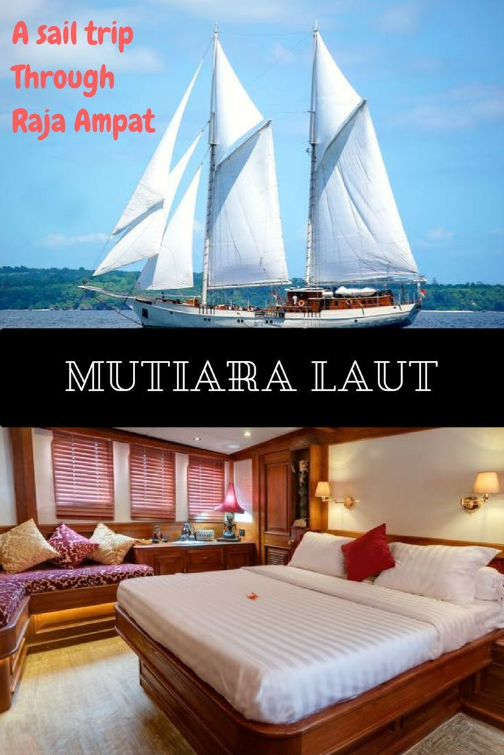 Sailing through the Raja Ampat islands with Mutiara Laut, a 46-meter long luxury schooner. A luxury getaway to see some of the worlds best islands off the coast of Papua. Ever dreamed of a trip to Raja Ampat? Read about my experiences.