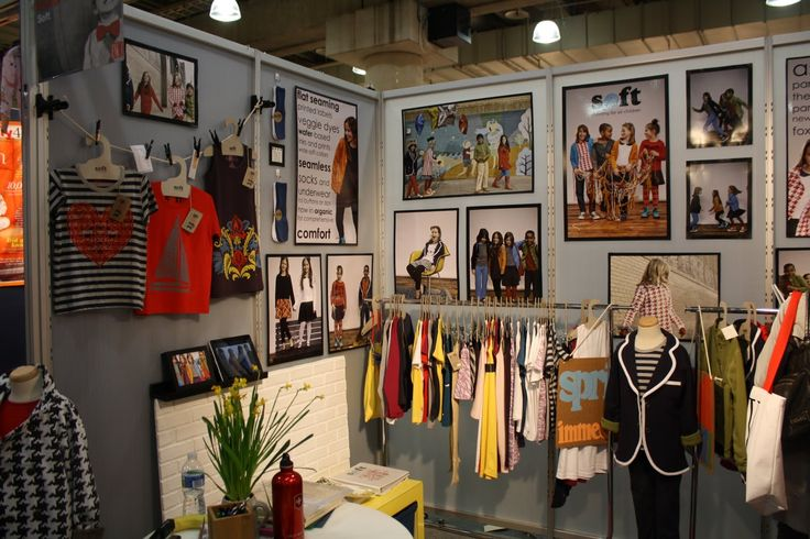 Soft Clothing 39 S Booth Design At Enk Show Biz Trade Show Booth Design Tips Pinterest